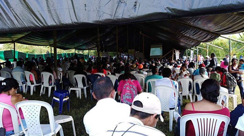 Asamblea 94 del plan de vida resguardo de corinto