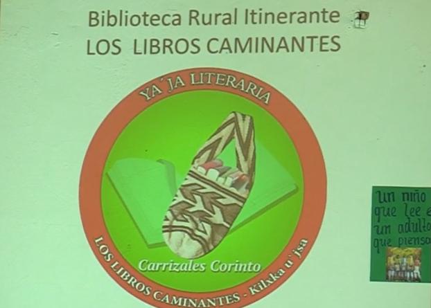Biblioteca itinerante carrizales corinto lectoescritura comunicacion estudiantes colegio profesores
