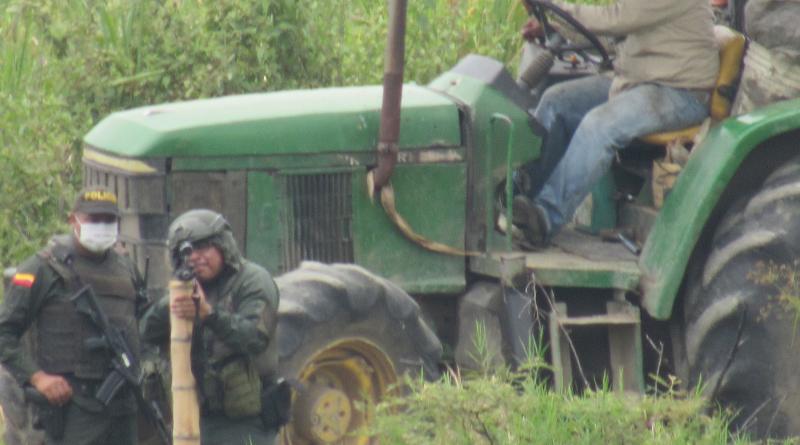 Fuente tejido de comunicaciones corinto - policia dispara a comunidades liberadores en Corinto