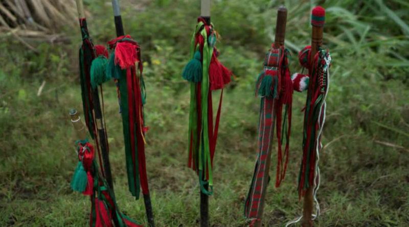 Baston Guardia Indigena Cauca