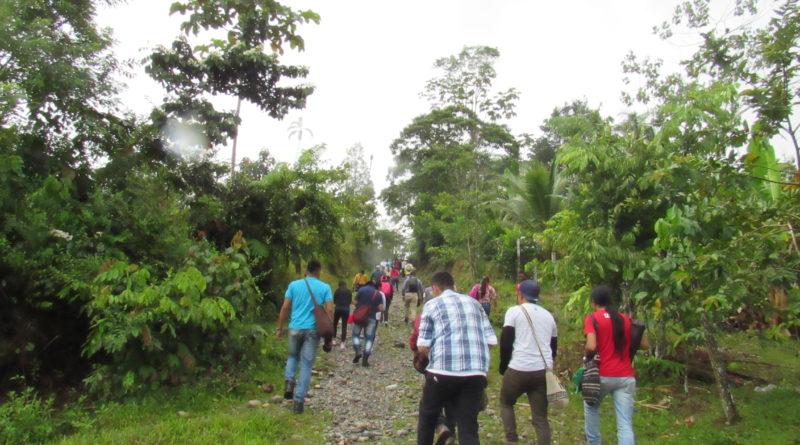 Camino hacia mandiyaco comunicadores del cauca